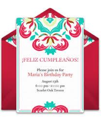 Wedding Invitations In Spanish Free Spanish Invitations Spanish Online Invites Punchbowl
