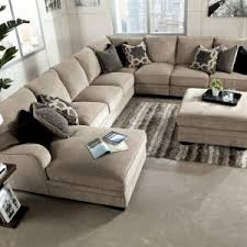 Sectional Sofa Pillows Furniture Ethan Allen Sectional Sofas In Brown With Ottoman Also