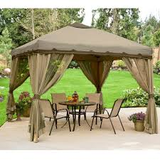 Patio Gazebo Replacement Covers 10 x 10 portable gazebo replacement canopy and netting garden winds