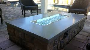 Firepit Glass Glass Rock Pit Pit Ideas