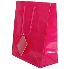pink gift bags pink gift bags with handle jam paper