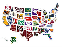 State College Map by Map The Most Underrated College In Every State Business Insider