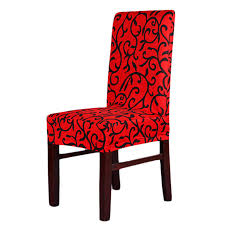 dining chair seat cover 1pcs polyester spandex dining chair covers for wedding party chair