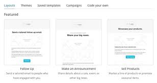 How To Make A Layout Blind Create An Email Campaign With Campaign Builder Mailchimp