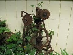metal sculptures for yard