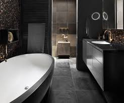Designing A Bathroom Online A Black Hole Moody Bathroom Design Trends
