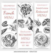 vector illustration sketch breakfast card menu brunch stock vector