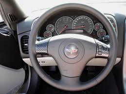 corvette steering wheel cover lamination c6 corvette black carbon dashes