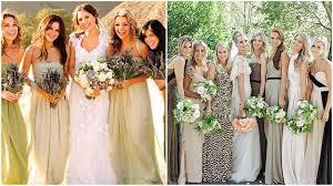 fall bridesmaid dresses green blue bridesmaid dresses beauandarrowevents