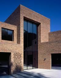 trio of brick volumes form highgate house by carmody groarke