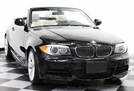 used bmw 1 series convertible 2013 used bmw 1 series certified 135i convertible 6 speed