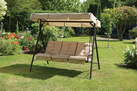 hammock bench 2 bench outdoor seater larch wood wooden garden swing chair seat