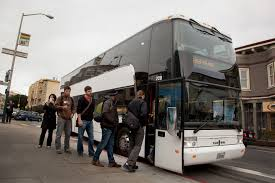 tech buses still here u2014 and busier than ever s f report says