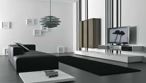 Color Scheme Modern Living Room With Modern Concept In Black White And Grey Color