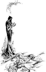 stephanie law tarot major arcana 14 death sketch jpg