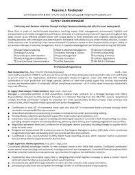 cover letter sample transportation management resume sample