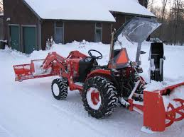 snowblower snow removal with a b3200