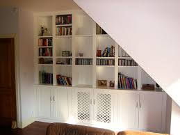 under stairs shelving unit surprising ideas expedit fezzhome