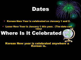 sol nal aka korean new year by n h ppt