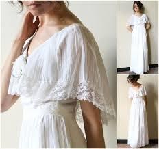 70s hippie wedding dress vintage boho peasant maxi length off