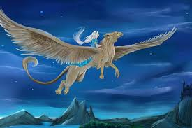 gryphon wings girls fantasy magical animals
