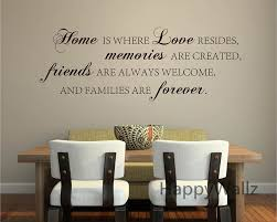 home love memories friends forever family quote wall stickers home love memories friends forever family quote wall stickers decorative diy family home lettering quote wall art decals q136 in wall stickers from home