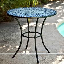 B Q Bistro Chairs Furniture Enticing White Outdoor Mosaic Bistro Table Design