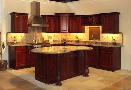dark cherry wood kitchen cabinets dark cherry wood kitchen