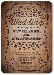 rustic invitations rustic 5x7 wedding invitations shutterfly