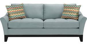 599 99 newport cove hydra sky light blue blue sofa