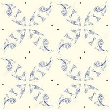 japanese wedding backdrop minimalistic vector ethnic feather seamless pattern modern flaky