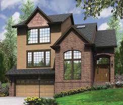 Hillside House Plans With Garage Underneath by Garage Under Split Level Plan 69133am Architectural Designs