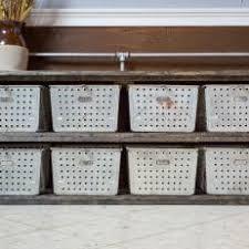 industrial storage bench photos hgtv
