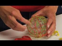 string ornament tutorial