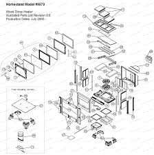 homestead model 8570 parts 8570 the cozy cabin hearthstone parts