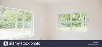 empty white room in house stock photo royalty free image