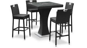 table haute cuisine design best table haute jardin teck contemporary amazing house design