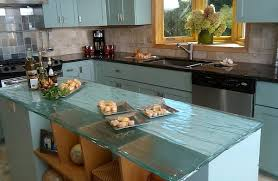 kitchen counter top ideas simple ideas to change your kitchen with glass
