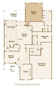 master suites floor plans highland homes 926 floor plan downstairs with extended master
