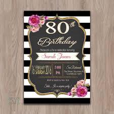 80 party invitations 80th birthday invitations 80th birthday party invitations