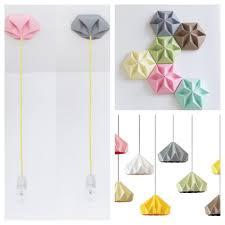 suspension origami diy origami ceiling roses u2014 crafthubs