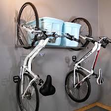 a mess of bikes in the garagediy bicycle rack garage diy bike