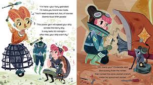 interstellar cinderella book u2013 modern fairytales u2013 strong princess