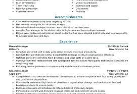 restaurant manager resume template restaurant general manager resume wallpaper restaurant general