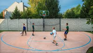 Basketball Court In The Backyard Nothing But Net Appeals Court Rules Backyard Hoop Can Stay News