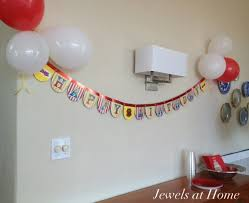 how to make birthday decoration at home easy customizable birthday banners jewels at home