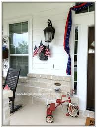 Porch Flags From My Front Porch To Yours Farmhouse Patriotic Summer Front