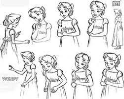 preproduction sketches grand finale 14 disney ladies disney