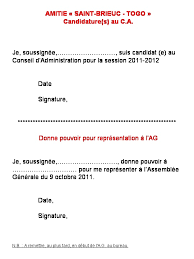 association bureau conseil d administration amitie brieuc togo fiche candidature s au conseil d