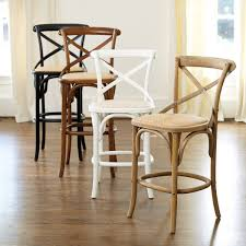 constance wood barstool front room pinterest wood counter